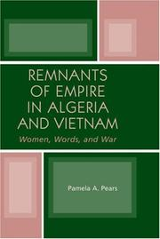 Cover of: Remnants of Empire in Algeria and Vietnam