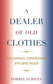 Cover of: A Dealer of Old Clothes | Darryl Scriven
