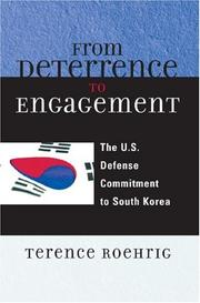 Cover of: From Deterrence to Engagement | Terence Roehrig