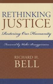 Cover of: Rethinking Justice