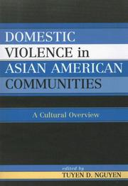 Cover of: Domestic Violence in Asian-American Communities