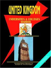 Cover of: United Kingdom Universities and Colleges Directory