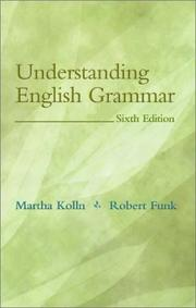 Cover of: Understanding English grammar