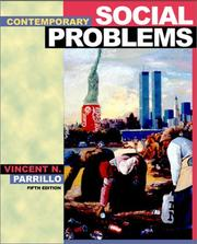 Cover of: Contemporary social problems | Vincent N. Parrillo