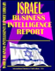 Cover of: Israel Business Intelligence Report | USA International Business Publications