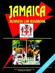 Cover of: Jamaica Business Law Handbook