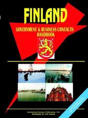 Cover of: FINLAND Government & Business Contacts Handbook