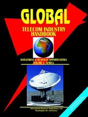 Cover of: Global Telecom Industry Handbook (Investment and Business Opportunities). Vol.1 Africa