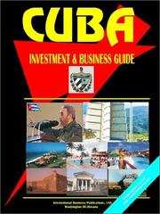 Cover of: Cuba Investment