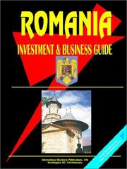 Cover of: Romania Investment and Business Guide