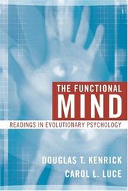 Cover of: The Functional Mind | Douglas T. Kenrick