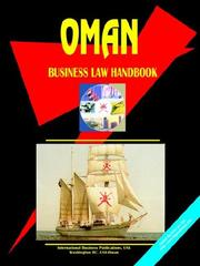 Cover of: Oman Business Law Handbook | USA International Business Publications