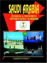 Cover of: Saudi Arabia | USA International Business Publications