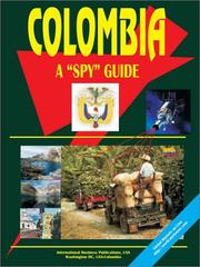 Cover of: Colombia a Spy Guide