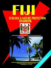 Cover of: Fiji Ecology & Nature Protection Handbook