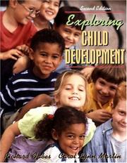 Cover of: Exploring child development