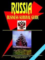 Cover of: Russian Business Survival Guide | USA International Business Publications