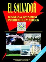 Cover of: El Salvador Business and Investment Opportunities Yearbook | USA International Business Publications