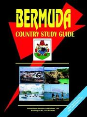 Cover of: Bermuda Country | USA International Business Publications