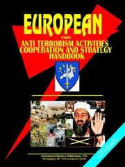 Cover of: EU Anti Terrorism Activities, Cooperation And Strategy Handbook