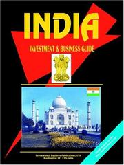 Cover of: India Investment & Business Guide