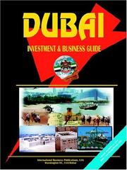 Cover of: Dubai Investment & Business Guide