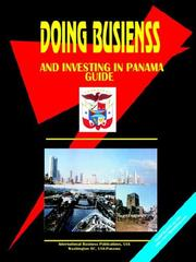 Cover of: Doing Business and Investing in Panama