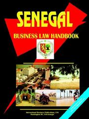Cover of: Senegal Business Law Handbook | USA International Business Publications