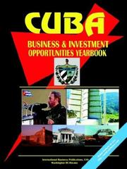 Cover of: Cuba Business & Investment Opportunities Yearbook