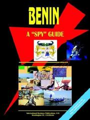 Cover of: Benin A Spy Guide | USA International Business Publications