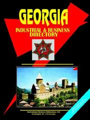 Cover of: GEORGIA INDUSTRIAL AND BUSINESS DIRECTOR