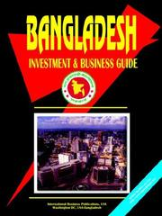 Cover of: Bangladesh Investment and Business Guide