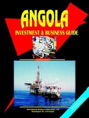 Cover of: Angola Investment and Business Guide
