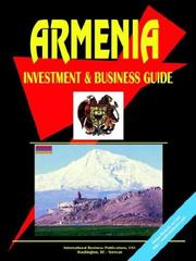 Cover of: Armenia Investment and Business Guide