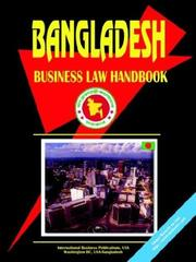Cover of: Bangladesh Business Law Handbook