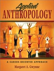 Cover of: Applied Anthropology