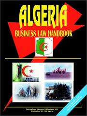 Cover of: Algeria Business Law Handbook | International Business Publications, USA