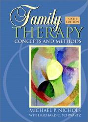 Cover of: Family Therapy | Michael P. Nichols