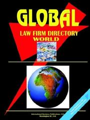 Cover of: Global Law Firms Directory