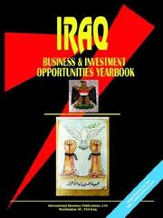 Cover of: Iraq Business & Investment Opportunities Yearbook