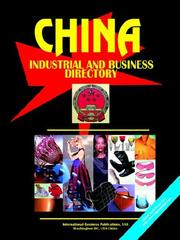 Cover of: China Industrial and Business Directory