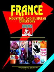 Cover of: France Industrial and Business Directory
