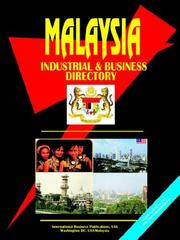 Cover of: Malaysia Industrial And Business Directory