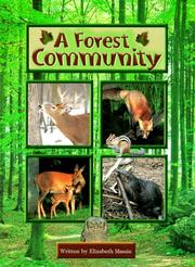 Cover of: A Forest Community
