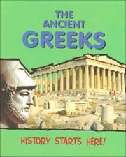 Cover of: The Ancient Greeks (History Starts Here)