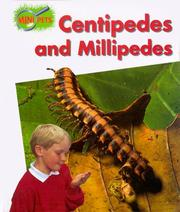 Cover of: Centipedes and millipedes