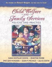 Cover of: Child Welfare and Family Services | Susan Whitelaw Downs
