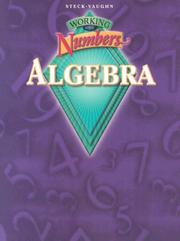 Cover of: Working With Numbers