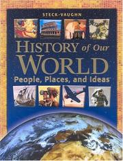 Cover of: History of the World
