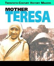 Cover of: Mother Teresa (20th Century History Makers)